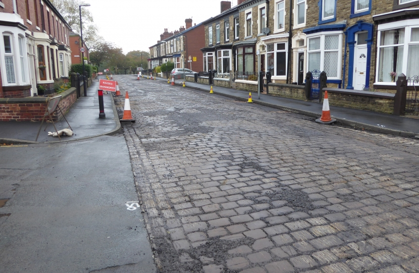 Gillibrand St Chorley recently resurfaced