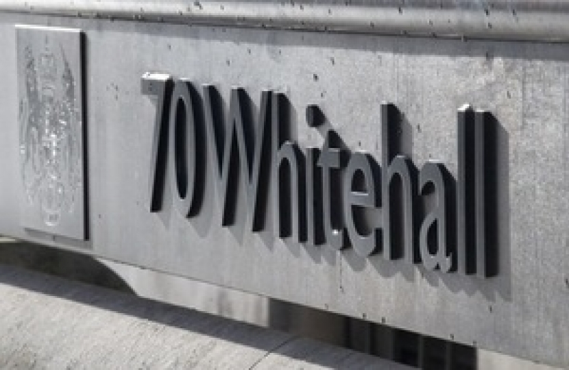 Chorley and Lancs join Whitehall project