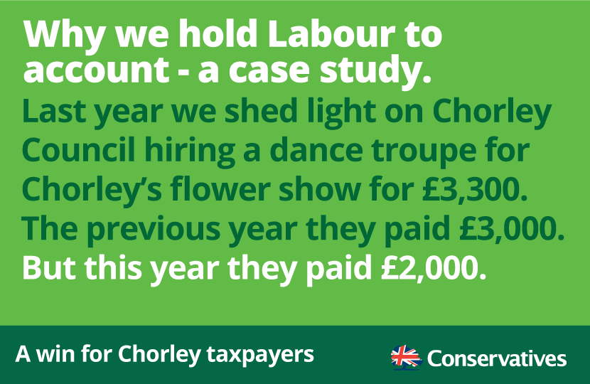 A win for Chorley taxpayers