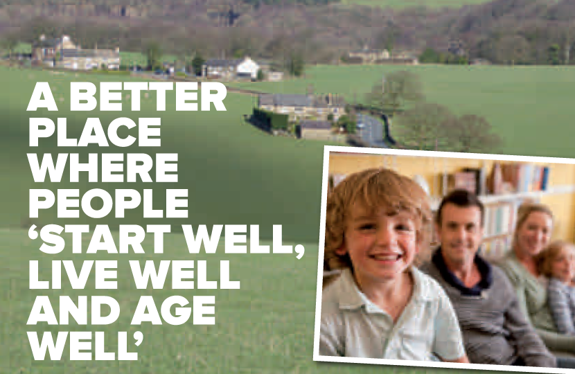 A better place where people start well, live well and age well