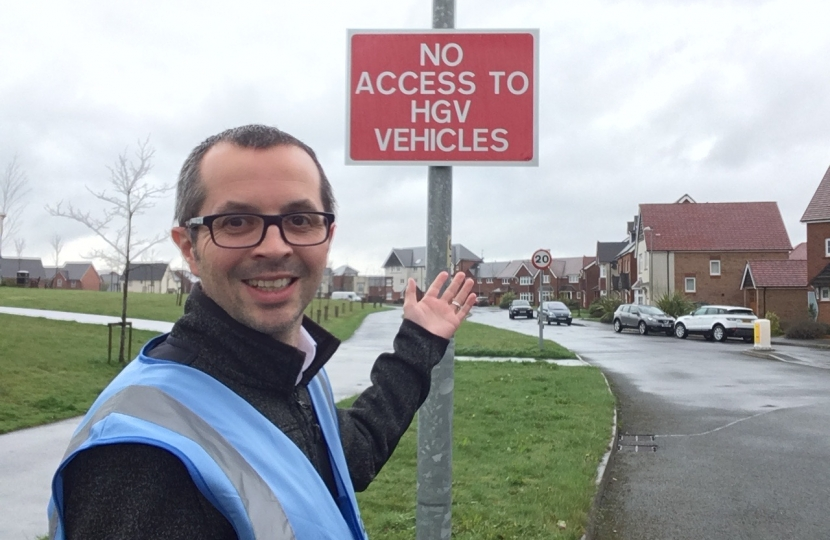Buckshaw Village Residents Frustrated with HGVs