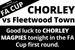FA Cup First Round Chorley vs Fleetwood Town