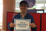 Aidy Riggott becoming a dementia friend