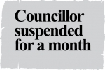 Labour Councillor Christopher France suspended