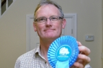 Peter Malpas ready to give Chorley's new parliamentary candidate his rosette