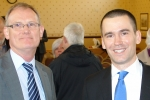 Rob Loughenbury (right) selected as candidate for Chorley