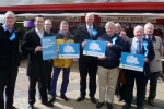 Rt Hon Chris Grayling visits Chorley in support of Lancashire County Council ele