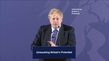 Embedded thumbnail for Boris Johnson sets out his vision for unleashing Britain's potential